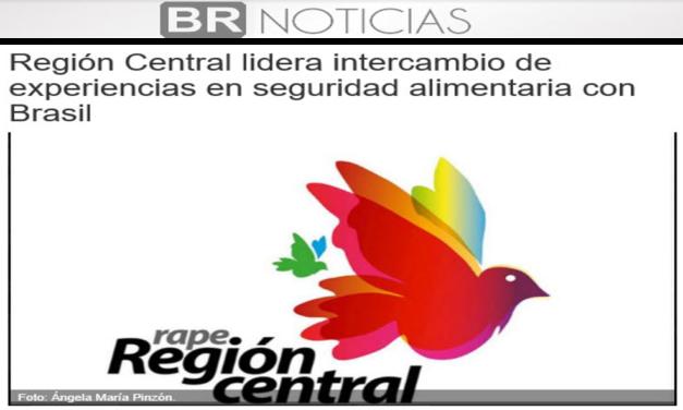 Región Central lidera intercambio de experiencias en seguridad alimentaria con Brasil