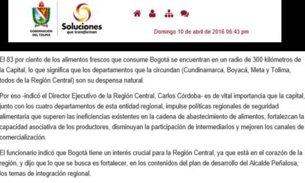 Gobernación del Tolima – RAPE