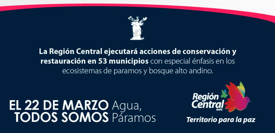 La Región Central promueve el uso y aprovechamiento eficiente del agua