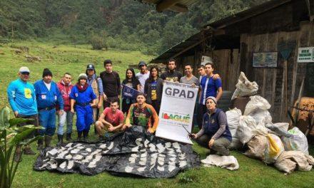 Casi 300 kilos de basura fueron bajados del Nevado del Tolima