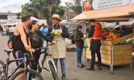 Suba y Engativa, participaron activamente de los mercados campesinos