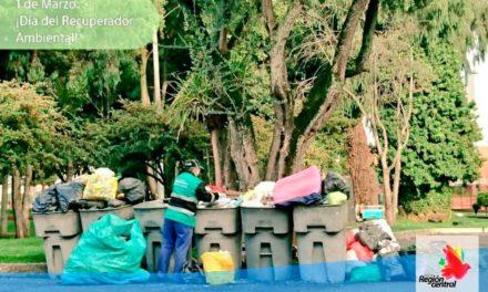 La Región Central reconoce la gran labor de los recuperadores ambientales