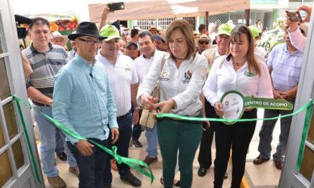 Gobernación inauguró nuevo centro de acopio en Cajamarca