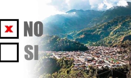 Cumaral vota NO a la explotación de hidrocarburos.