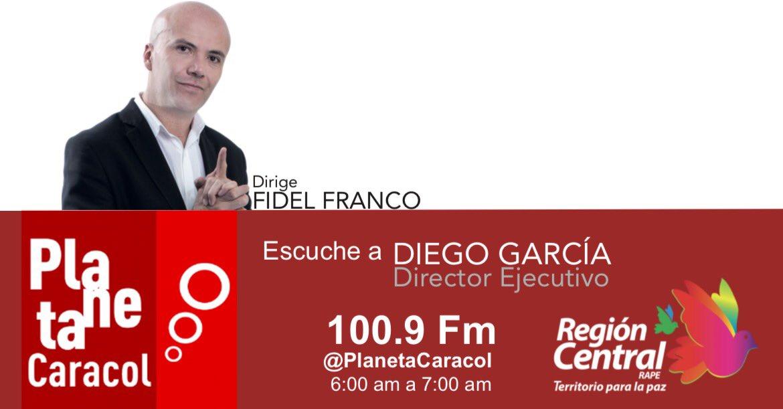 """Diego García en """"Hoy Por Hoy"""" de Caracol Radio"""