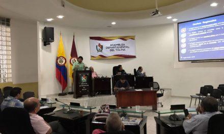 RAP-E expuso proyectos ante Asamblea del Tolima