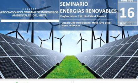 Gobierno Departamental realizará Seminario de Energías Renovables para el Territorio