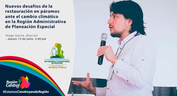 RAP-E lanzará proyecto páramos en congreso internacional