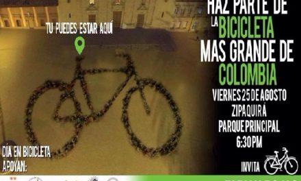 Zipaquirá buscará crear la bicicleta más grande de Colombia