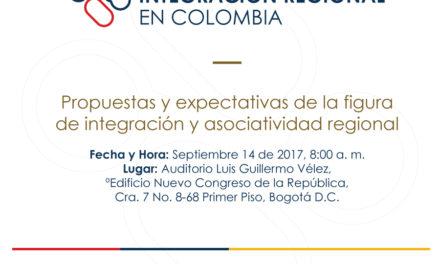 Foro Experiencias de Integración Regional en Colombia