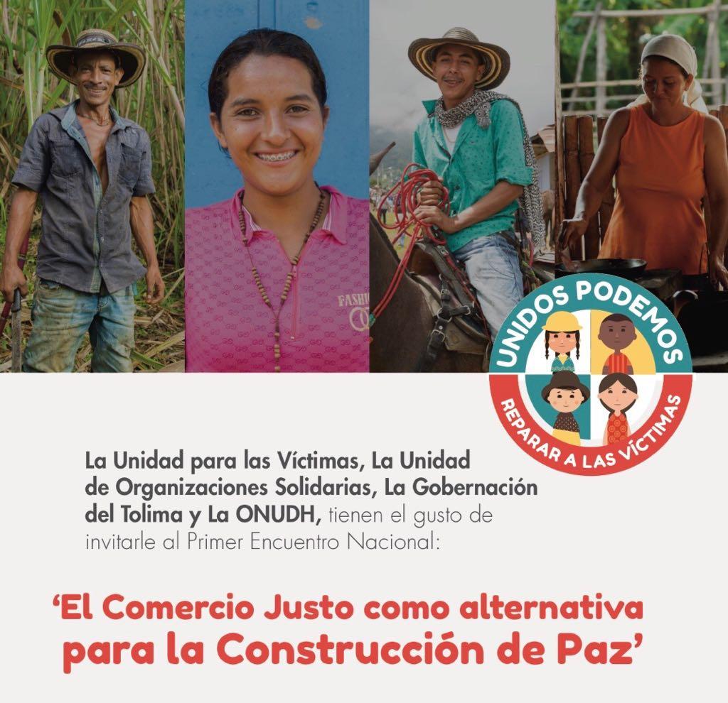 """Proyecto """"compras institucionales"""" camino justo hacia la paz."""