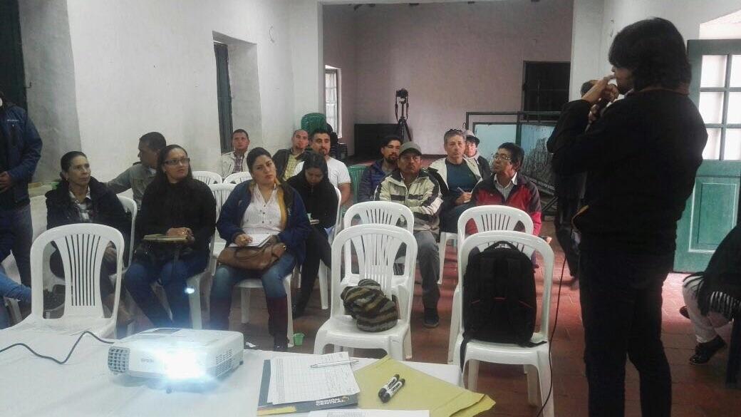 LA RAPE PRESENTÓ A LOS CUNDINAMARQUESES SU PROYECTO BICIREGIÓN