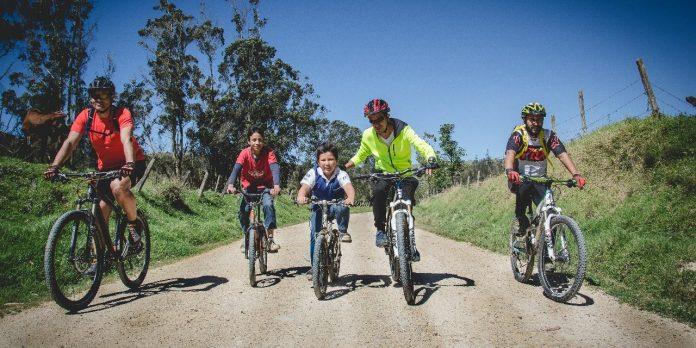 Turismo en bicicleta busca imponerse por los paisajes de Boyacá.