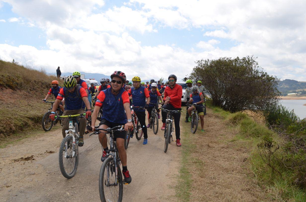 #Biciregión fortalece el turismo en bicicleta por Cundinamarca.