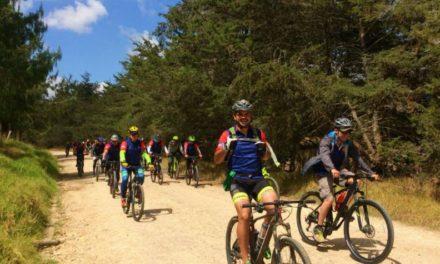 Integran tres municipios de la Región Central con ciclomontañismo