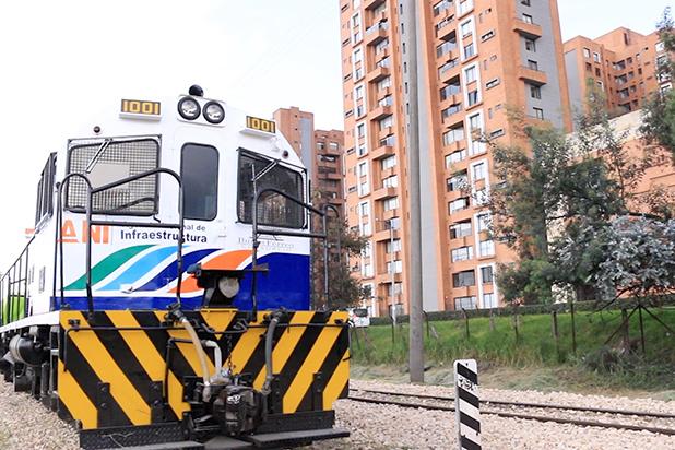 Corredor férreo Bogotá – Belencito (Boyacá), listo para la operación de trenes de carga.