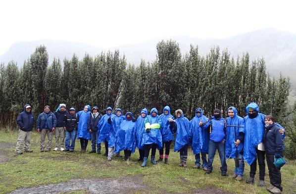 Guarda páramos llegan de Ecuador con experiencias para aplicar en Boyacá