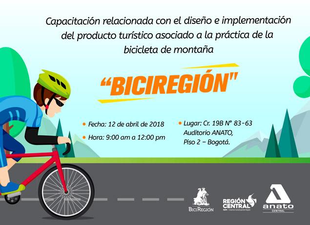 """Capacitación en el Diseño e implementación del producto turístico """"BiciRegión"""" – BOGOTÁ"""