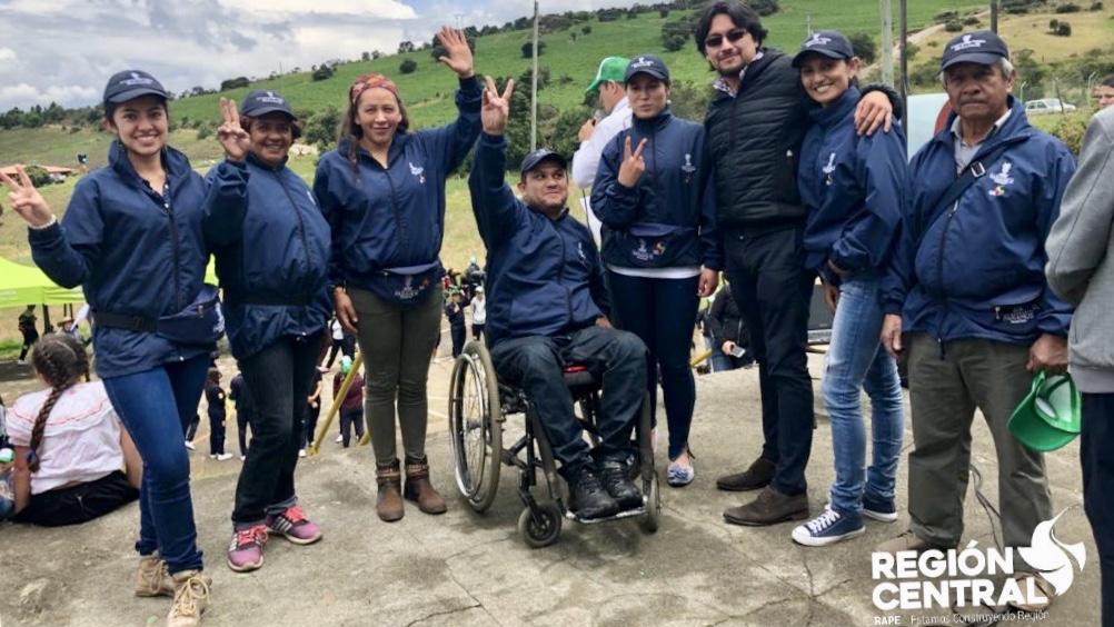 Guardapáramos Voluntarios comprometidos con la conservación del complejo del páramo Rabanal