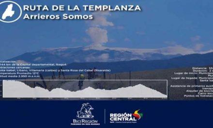 En el norte del Tolima realizaremos la Ruta de la Templanza