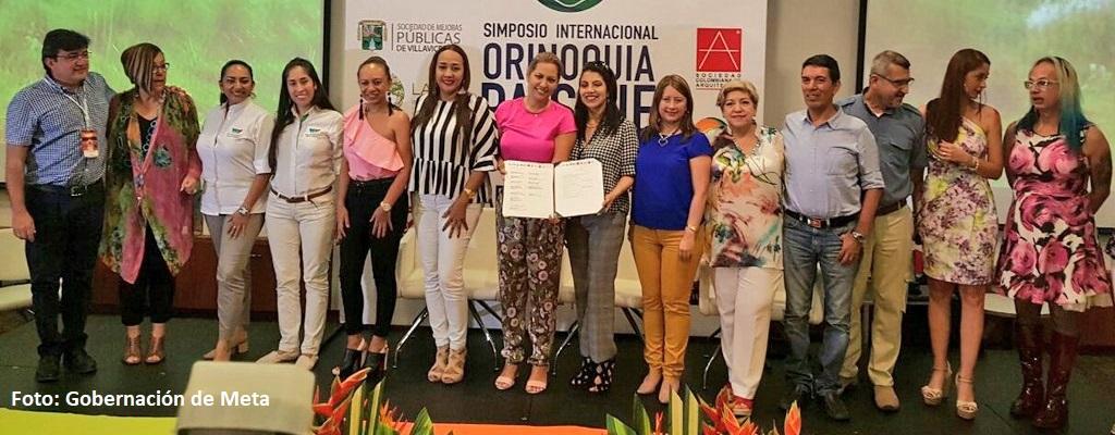 Firmado en Villavicencio el pacto ciudadano por la defensa del paisaje llanero