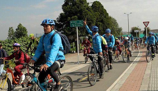 Distrito fortalece 'Al colegio en bici' con ciclo-expediciones por Bogotá