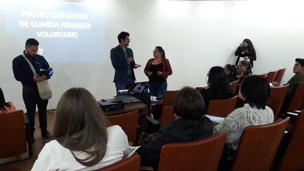 Boyacá se vincula al proyecto Guardapáramos Voluntarios