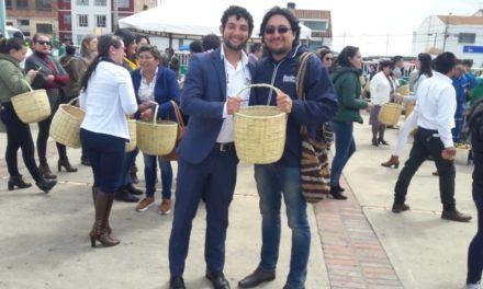 Boyacá entregó 3.200 canastos a cambio de material plástico