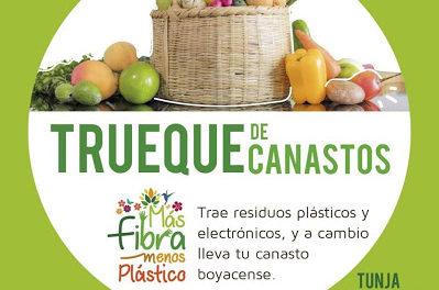 """EN TUNJA: """"Más fibra, menos plástico"""""""