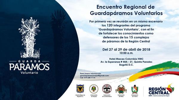 Primer encuentro de regional de guardapáramos del país