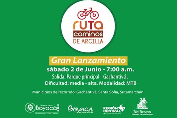 Primera ruta de BiciTurismo en Boyacá
