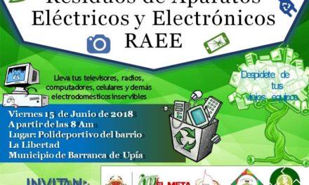 MAÑANA SE REALIZARÁ LA TERCERA JORNADA DE RECICLATÓN DE RESIDUOS SÓLIDOS Y APARATOS ELECTRÓNICOS EN EL META
