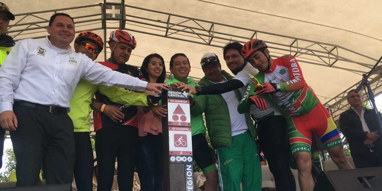 En Gachantivá se dio el primer pedalazo por el desarrollo turístico y cultural de la región