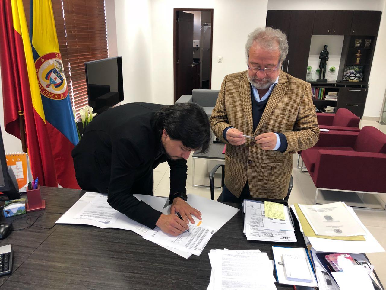 Región Central Firmó Convenio De Cooperación Con La Universidad Distrital