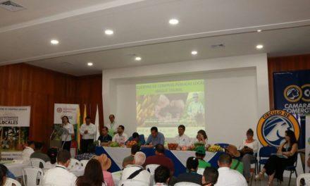 Nuevas alianzas institucionales fortalecen la economía de los agricultores en el Tolima