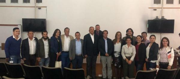 Proyecto Geoparque del Volcán Nevado del Ruiz recibió apoyo de la Rape