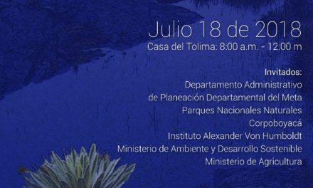 EN BOGOTÁ LA REGIÓN CENTRAL INVITA A LA MESA INTERINSTITUCIONAL AMBIENTAL SOBRE PÁRAMOS Y TRANSICIONALIDAD
