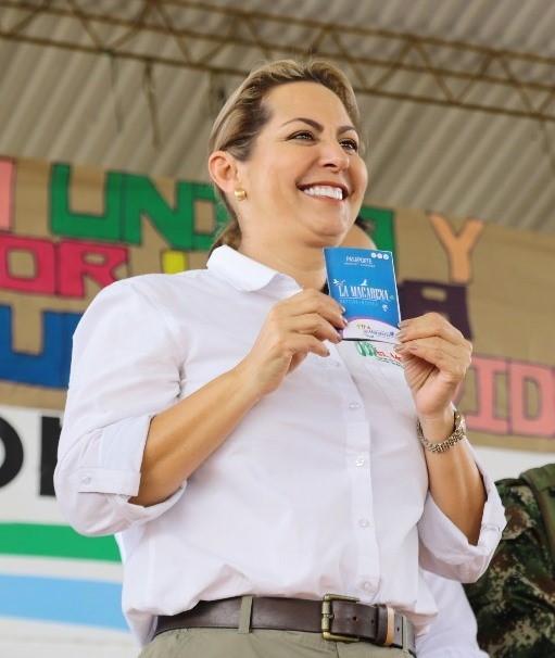 LA GOBERNADORA MARCELA AMAYA VISITÓ LA MACARENA CON SOLUCIONES DE VIVIENDA, SALUD, TURISMO Y GESTIÓN SOCIAL