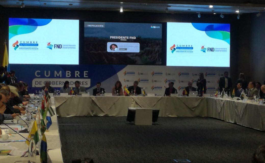 En Cumbre de Gobernadores se priorizaron temas de interés para la Región Central