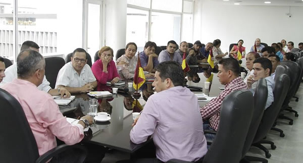 El oriente del Tolima en la agenda del gobernador Óscar Barreto