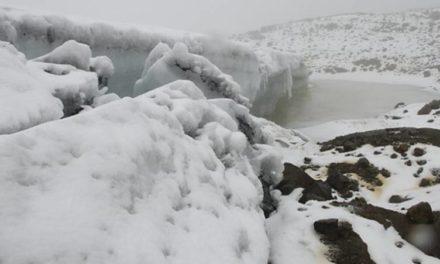 Después de 20 años, volvió a nevar en la Sierra Nevada de El Cocuy, Boyacá