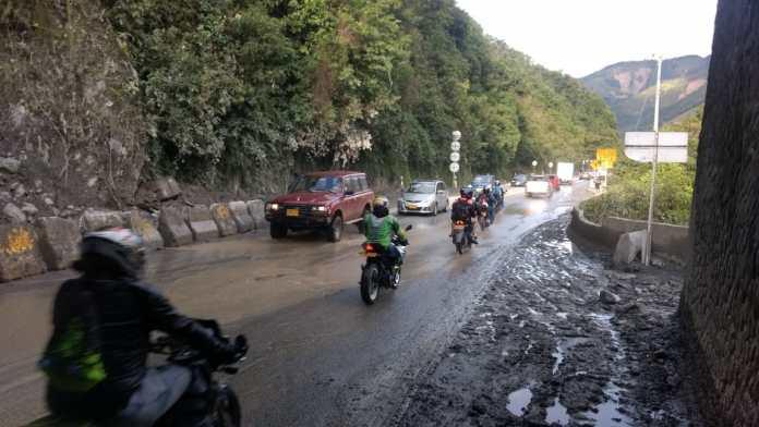 Establecidos compromisos para gestionar tramo uno de la vía entre Bogotá y Villavicencio