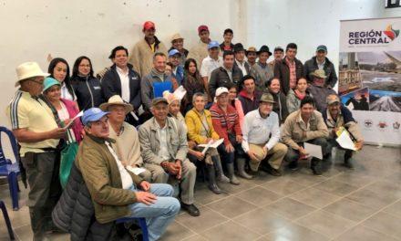 CON PASO FIRME AVANZA INICIATIVA DE AGRICULTURA FAMILIAR EN GUTIÉRREZ
