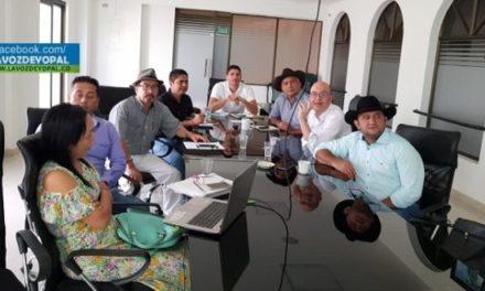Asesor jurídico de las Regiones Administrativas de Planeación, se reunió con diputados de Casanare.