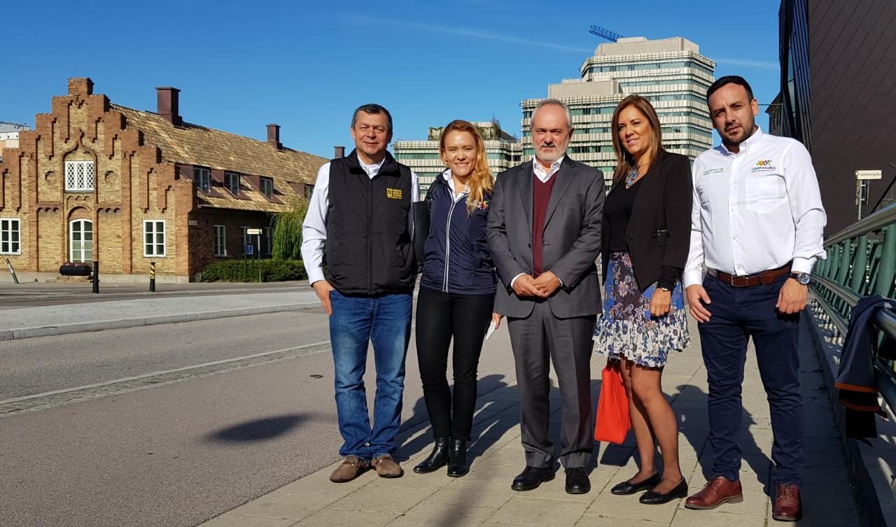 En Suecia, la Región Central desarrolla programas de Cooperación Internacional.