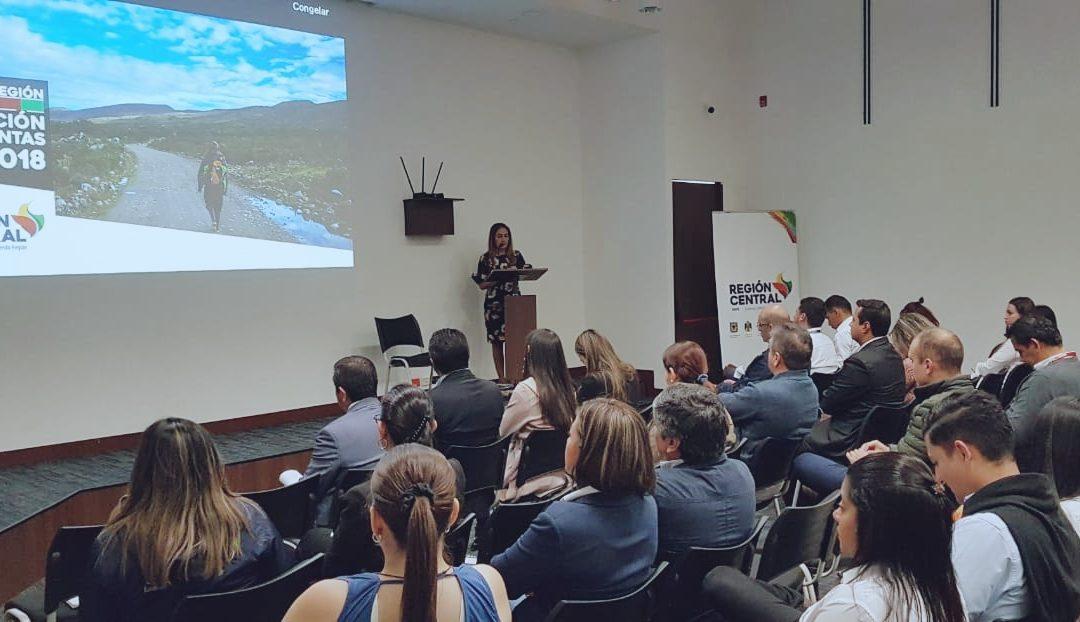 Avances de la Región Central – RAPE durante la vigencia 2018
