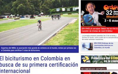 elperiodicodeportivo.com.co – 04/12/2018 – El biciturismo en Colombia en busca de su primera certificación internacional