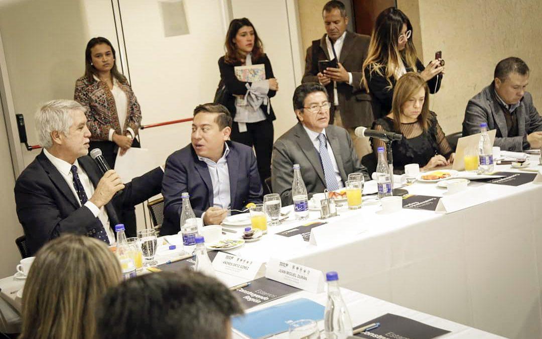 Mandatarios y Congresistas del Centro del país hacen recomendaciones al Plan Nacional de Desarrollo