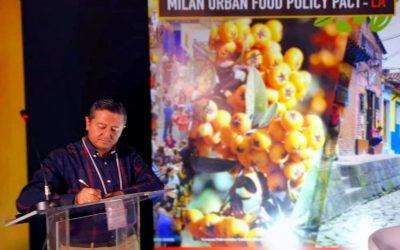 La Región Central de Colombia, la primera de Latinoamérica en adherirse al Pacto Mundial por la Seguridad Alimentaria