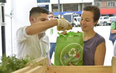 36 mil libras de alimentos se entregarán a las familias que reciclen en Cundinamarca
